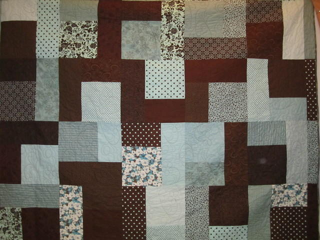 Yvonne's 1st Quilt