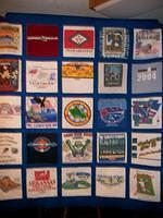 T-Shirt Quilt for Lisa from Montgomery